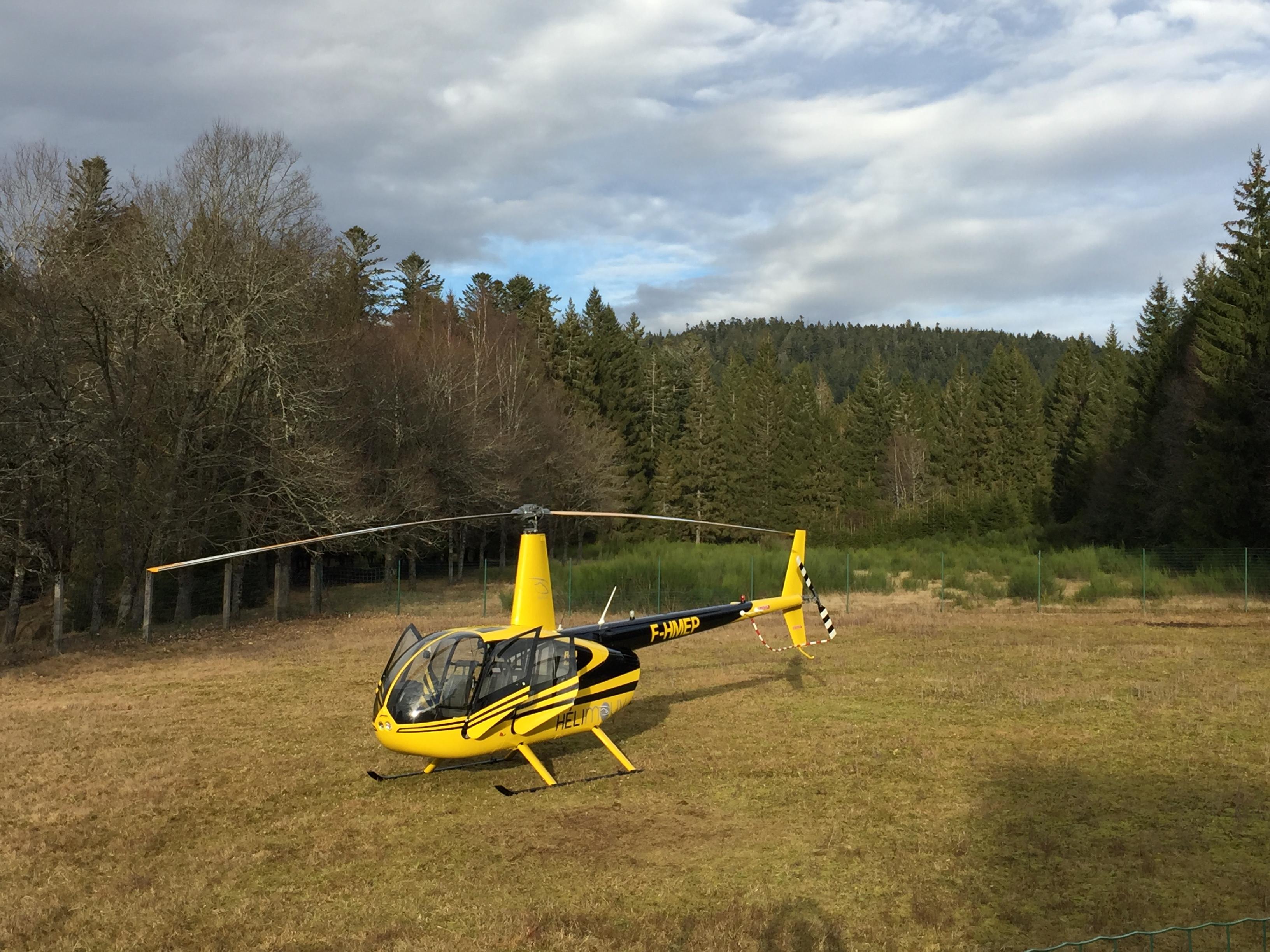Vol hélicoptère découverte 15 Minutes